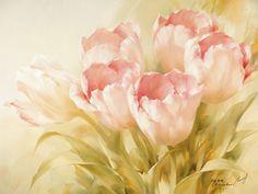 Igor Levashov : Pink Tulips II