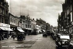 Postcards of the Past - Vintage Postcards of Reading, Berkshire