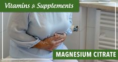 Magnesium citrate is a popularly used as a laxative to help with constipation. Learn more about magnesium citrate, its uses, benefits and side effects. https://articles.mercola.com/vitamins-supplements/magnesium-citrate.aspx
