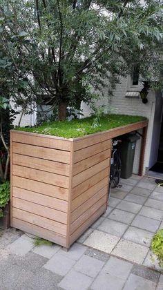 Organiser son jardin de manière à ranger et stocker plein de choses! 18 idées inspirantes