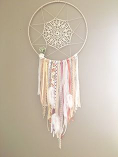 Bohemian dream catcher by Appartdesfilles on Etsy