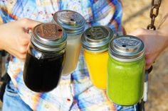 EcoJarz.com - use a canning jar as a to-go cup! - they have stainless steel and glass straws also