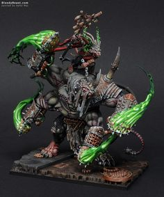 The Internet's largest gallery of painted miniatures, with a large repository of how-to articles on miniature painting Warhammer Figures, Warhammer Paint, Warhammer 40k Miniatures, Warhammer Skaven, Warhammer Fantasy, Warhammer Aos, Fantasy Figures, Fantasy Art, Statues
