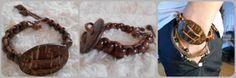 DIY Mens Bracelet Diy Crafts Jewelry, Projects To Try, Bracelets, Gold, Leather, Bangles, Bracelet