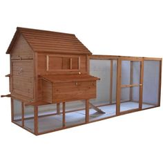 You'll love the Large Backyard Hen House Chicken Coop with Long Run at Wayfair - Great Deals on all Pets  products with Free Shipping on most stuff, even the big stuff.