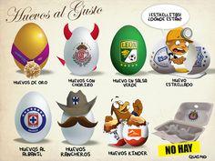 Cartón de huevos - Qucho - mediotiempo.com