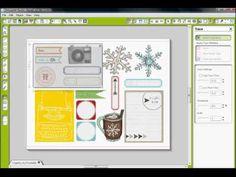 Print & Cut digital elements using the Silhouette