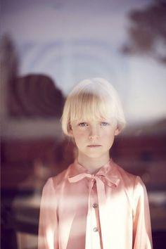 blond bangs