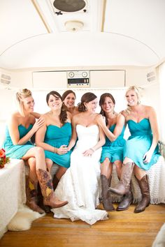 This is exactly how my wedding will be ;) but maybe heels instead of boots.... Depending on who I marry:)