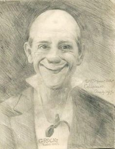 Grock pencil drawing http://famousclowns.org/famous-clowns/grock-karl-adrien-wettch-inducted-into-the-clown-hall-of-fame-in-1992/