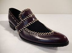 Fiesso Burgundy Suede & Leather Loafer