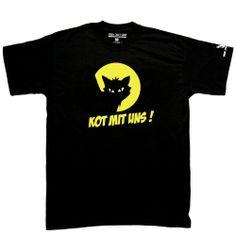 Kot Mit Uns (męska) | CIUCHY \ Koszulki \ męskie Koszulki | JIMMY JAZZ RECORDS - sklep i wydawnictwo muzyczne. Oferujemy CD, LP, Koszulki, ciuchy,
