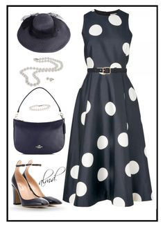 Untitled #3454 by amdavis1218 on Polyvore featuring Valentino, Coach, DaVonna, Tiffany & Co., A.P.C. and L.K.Bennett