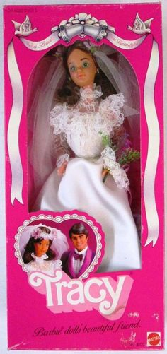 Barbie TRACY Doll She's a Bride! She's Beautiful! (1982 Mattel Hawthorne): Toys & Games