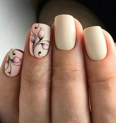 Opting for bright colours or intricate nail art isn't a must anymore. This year, nude nail designs are becoming a trend. Here are some nude nail designs. Nude Nails, Gel Nails, Acrylic Nails, Nail Designs Spring, Nail Art Designs, Ring Designs, Spring Nails, Summer Nails, Nail Studio