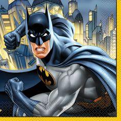 Batman Party Napkins, 16ct, Napkins - Amazon Canada