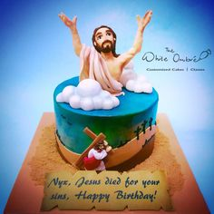 Jesus Saves - Cake by Nicholas Ang