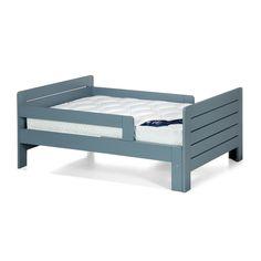 Lit LILOU bleu et matelas BULTEX évolutif pour enfant Bleu - Lilou - Les lits enfants - Les meubles pour chambre enfant - Univers des enfants - Décoration d'intérieur - Alinéa