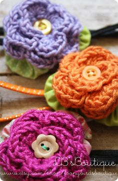 crochet flower/ inspiration/ picture only