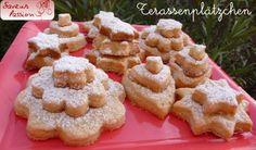 Plätzchen, biscuits de Noël allemands (1) : Terassenplätzchen