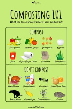 Composting For Kids - teach them the circle of life