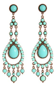 Kasbah Turquoise Earrings    I LOVE these!!!