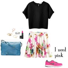 """Pink"" by rockit on Polyvore"