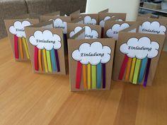 Einladung zur Regenbogen-Party