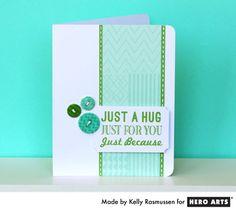 Card - handmade card buttons