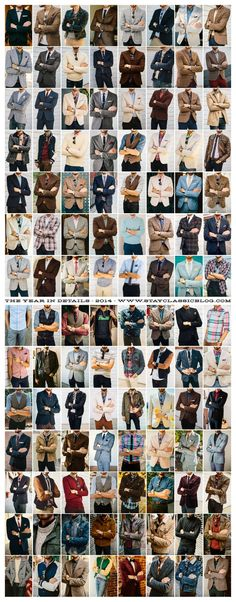 Stay Classic • Details of 112 outfits from 2014. See you in 2015.