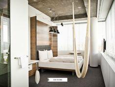 great hammock // Smart Luxury Hotel Daniel in Vienna
