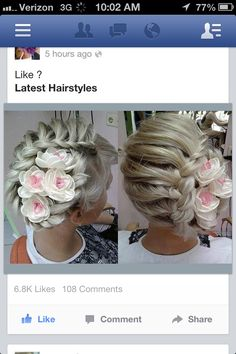 Amazing up-do
