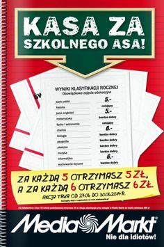 Koniec roku szkolnego już za nami. Wakacje czas start! Zasłużyłeś na jakiś fajny sprzęt elektroniczny? :) http://www.promocyjni.pl/gazetki/17049-kasa-za-szkolnego-asa-gazetka-promocyjna