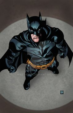 The Dark Knight by mike-mcgee on DeviantArt