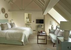 Splendid Rooms | Spacious Hotel Rooms in the Cotswolds. King sized bed • Complimentary wi-fi • In-room tablet with docking station • Comfy seating Area • Luxury bathrobes and slippers • Spacious bathroom with Temple Spa toiletries • Nespresso coffee machine • Flat screen satellite TV • Personal safe and hairdryer Prices from: £260 B&B and £330 DB&B