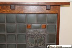 Arts and Craft Fireplace Mantel