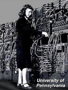 Programming ENIAC (1944).