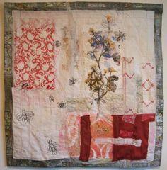 Cas Holmes - Paper, Textiles and Mixed-Media. Textile Fiber Art, Textile Artists, Collage Art, Collages, Cas Holmes, Creative Textiles, Textiles Techniques, Fabric Art, Creations