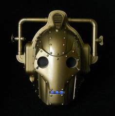Steampunk Cyberman Helmet Doctor Who Sci-Fi Cosplay Fantasy by SteampunkRelics on Etsy
