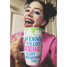 Harley Quinn is my spirit animal. This custom mug required theatrics.  All Earth Entwine designs are owned by the company. DO NOT COPY.