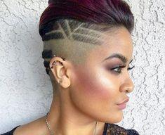 Best Undercut Hairstyles, Undercut Styles, Black Hairstyles, Medium Hair Cuts, Short Hair Cuts, Short Hair Styles, Trendy Haircuts, Haircuts For Long Hair, Sassy Haircuts