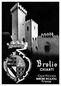 Brolio Chianti Casa Vinicola Barone Ricasoli Firenze