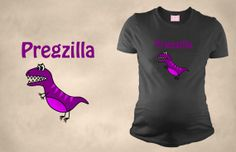 Pregzilla Violet  Maternity Funny TShirt by maternitytees on Etsy, $28.99@jenniferbruman