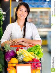 en un supermercado