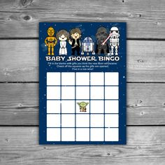 Boy Star Wars Baby Shower Games / Baby Shower Games / Printable Baby Shower  Games | Star Wars Baby, Baby Boy Shower And Baby Shower Games