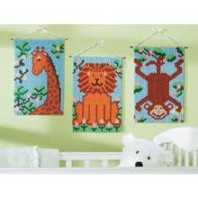 Jungle Pals Beaded Banner Kit