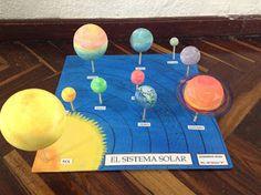 Maquetas y arte: SISTEMA SOLAR
