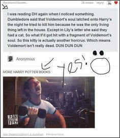 Haha! We win this round, Rowling!!