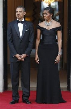 President and First Lady-The Obamas