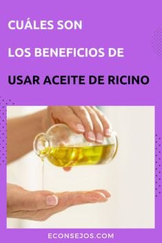 Aceite de Ricino - Beneficios y Usos Beauty Skin, Hair Beauty, Cabello Hair, Castor Oil, Health Remedies, How To Look Better, Beauty Hacks, Hair Makeup, Health Fitness